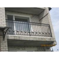 Балкон с коваными птицами, мод.№14