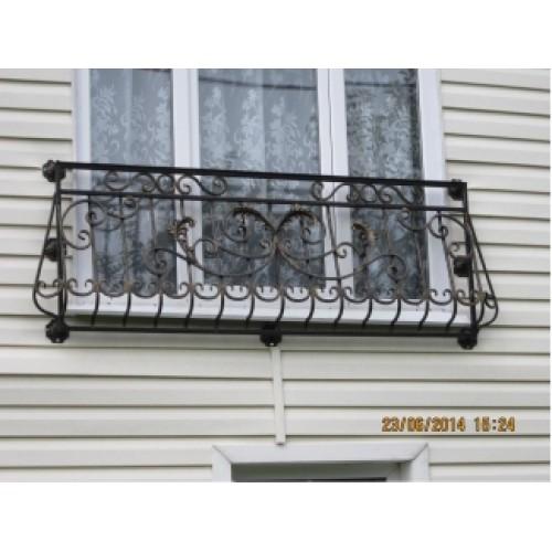 Балкон кованый французский купить в минске.