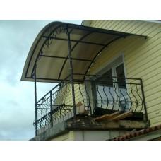 Балкон кованый - модель №2