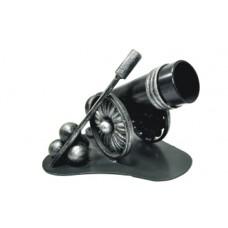 Карандашница из стали (цвет: черный с золотом) арт. № Д-0108