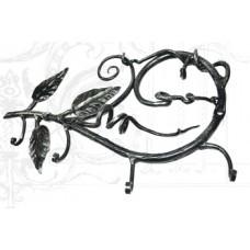 Ключница из стали, цвет черный с золотом арт. № К-0106