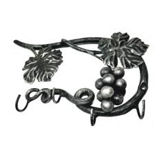 Ключница из стали, цвет черный с золотом арт. № К-0102