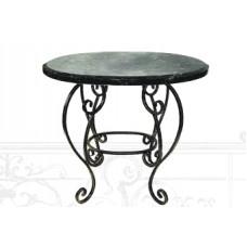 Стол из стали  (цвет: бронза и гранит) арт. № Д-0110