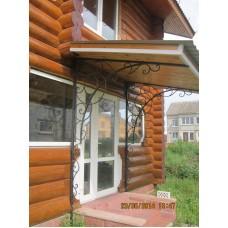 Козырек для деревянного дома, мод.№44