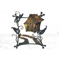 Панно кованое, цвет бронза арт. № ПК-0105