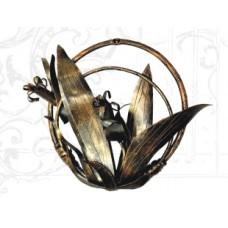 Панно кованое, цвет бронза арт. № ПК-0107