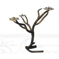 Подсвечник декоративный в форме дерева, мод.№10