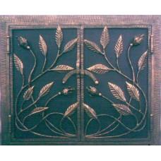 Решетка кованая с растительным орнаментом, мод.№11