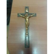 Крест металлический на могилу - модель №5