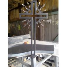 Крест металлический с пиками, мод.№6