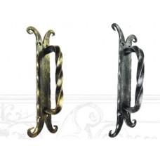 Ручка дверная из стали (цвет: серебро) арт. № Р-0211