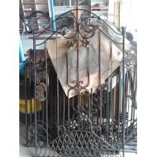 Кованая калитка из стали художественной ковки - модель №10