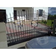 Ворота кованые откатные - модель №26